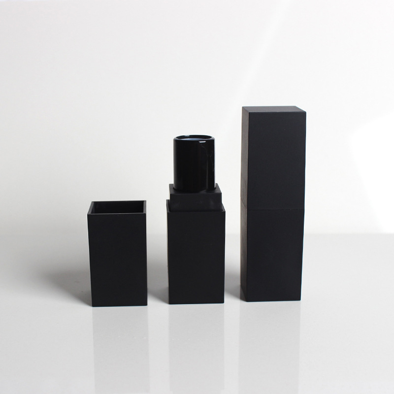 Square cosmetic packaging tube lipstick tube/case wholesale high quality lipstick container