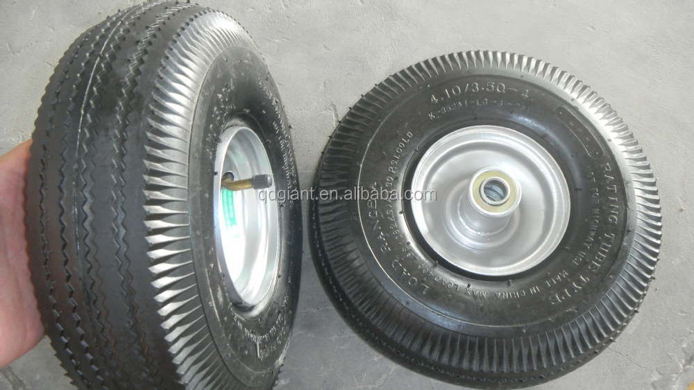 4.10/3.5-4 trolley rubber wheel