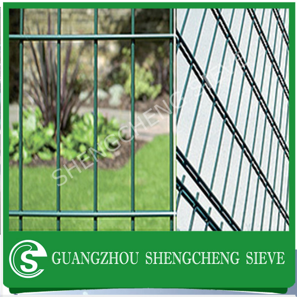 Classic double rod wire fence galvanized double wire fence factory direct