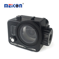 Meikon Aluminum Housing 100m Diving Gopro Accessories Underwater Waterproof Case For Gopro Hero 4