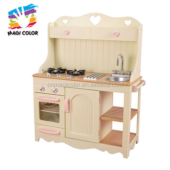Whole Interesting Wooden Cooking Kitchen Toy Used In Baby S Playground W10c319
