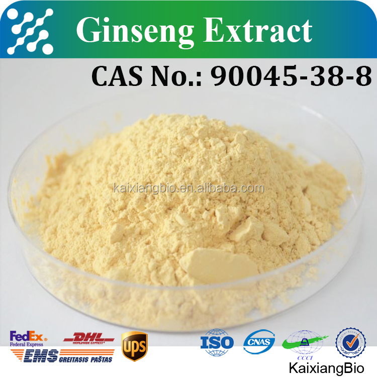 Pure natural ginseng root extract/ high quality bulk ginseng extract 30%