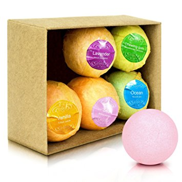 Natuurlijke organische aangepaste OEM ODM fizzy bad bommen private label bubble bad bommen gift box set