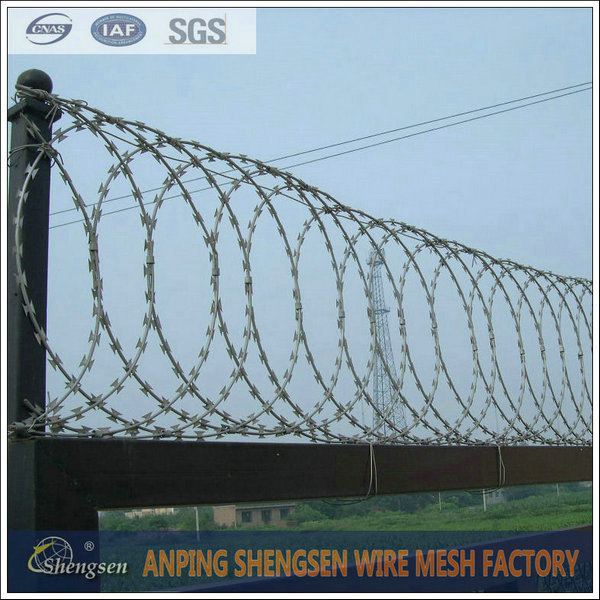 Anping direct factory price razor blade barbed wire for sale - Hebei ...