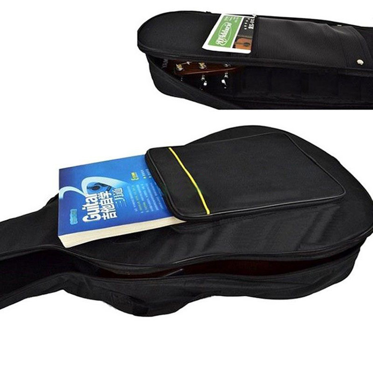 China Wholesale Waterproof Padded Lp Guitar Bag, Guitar Gig Bag With Pocket For Sheet Music