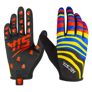 Best design breathable mountain bike mtb cycling gloves full finger bmx mx downhill gloves for men