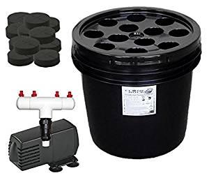 12 Site Aeroponic Plant Cloner - Original Clone Bucket 12 Black Edition From Hydro West