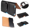 Belt Pouch For Various Phones Leather Clip Wallet Case Cover Luxury Card Holder