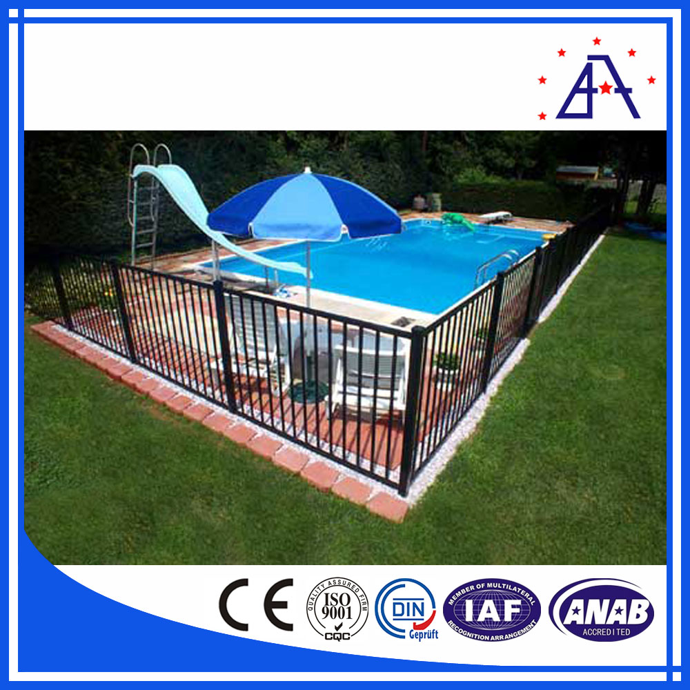Brilliance high quality and better price aluminum cheap pool fence