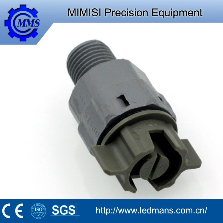 MMS PCB fast disassembly type plastic vee jet ,flat fan nozzle for cooling and washing semiconductor