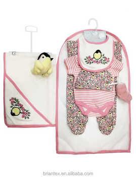 Wholesale 2018 hot sales Autumn Baby Girls Clothing Sets Baby Boy Clothes  Suits 5Pcs Newborn f753cb64e1c8d