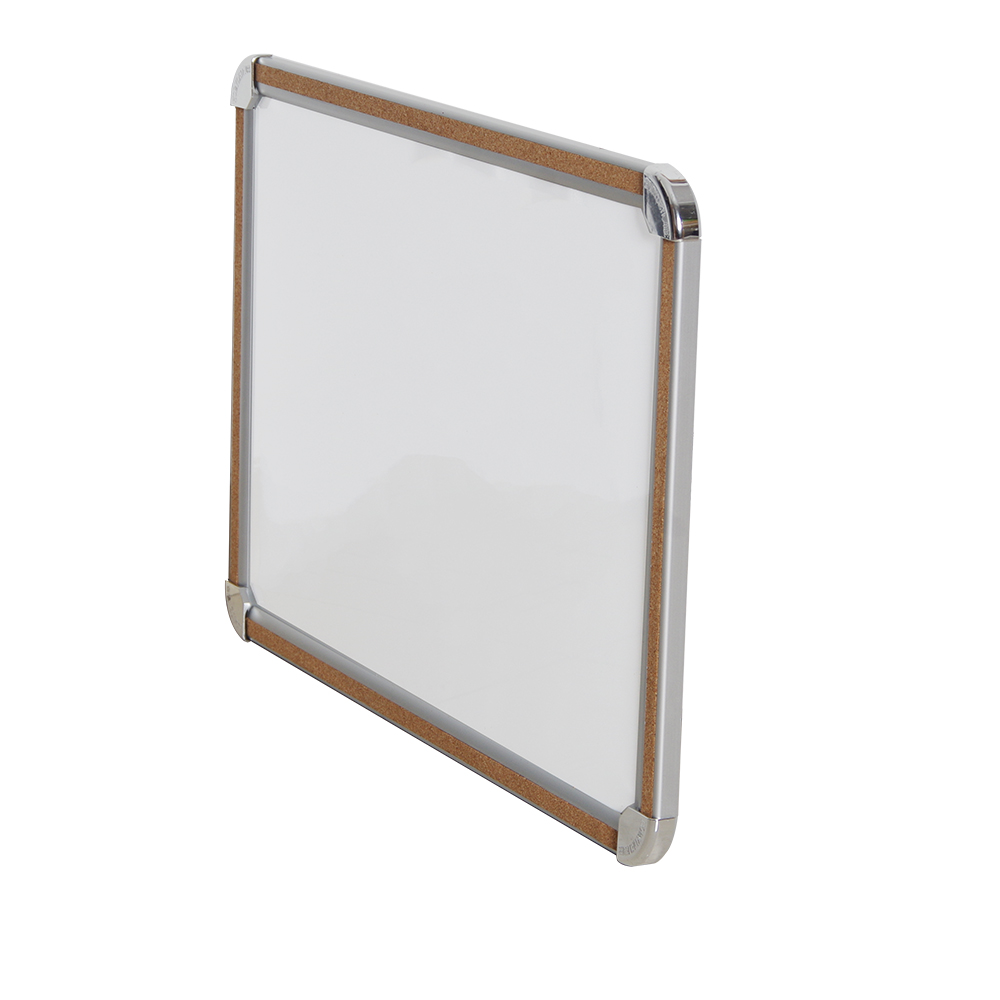Magnetic Bulletin Memo Dry erase Cork Whiteboard in Aluminum Frame