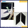 For Toyota Hilux Revo Side Vent Trims Exterior Accessories Auto ABS Plastic Black Side Wind Cover 4x4 car accessories