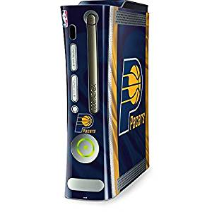aed9b2a41 Get Quotations · NBA Indiana Pacers Xbox 360 (Includes HDD) Skin - Indiana  Pacers Away Jersey Vinyl