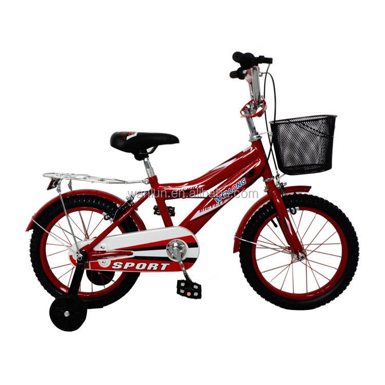 Manufacturer selling 16 boy's bike luxury baby tricycle with high power