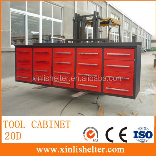 10ft Mobile Tool Cabinets With 20 Darwers Buy Garden