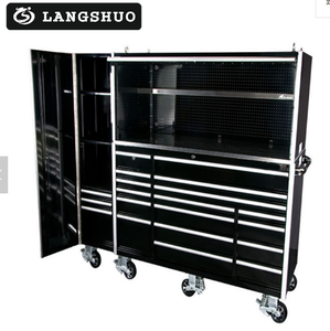 Chinese supplier multi- layer drawers Stainless steel tool cabinet tool chest with casters