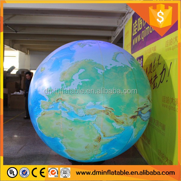The inflatable earth, the inflatable globe, theinflatable moon andinflatable Mars