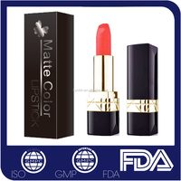 Fashion color lipstick lip stick cosmetic your own brand makeup