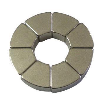 Custom N42 Wedge Arc Neodymium Magnets