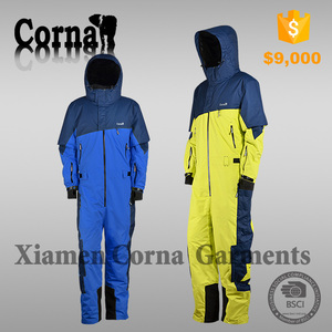 Custom made ski wear one piece outdoor overall ski suit