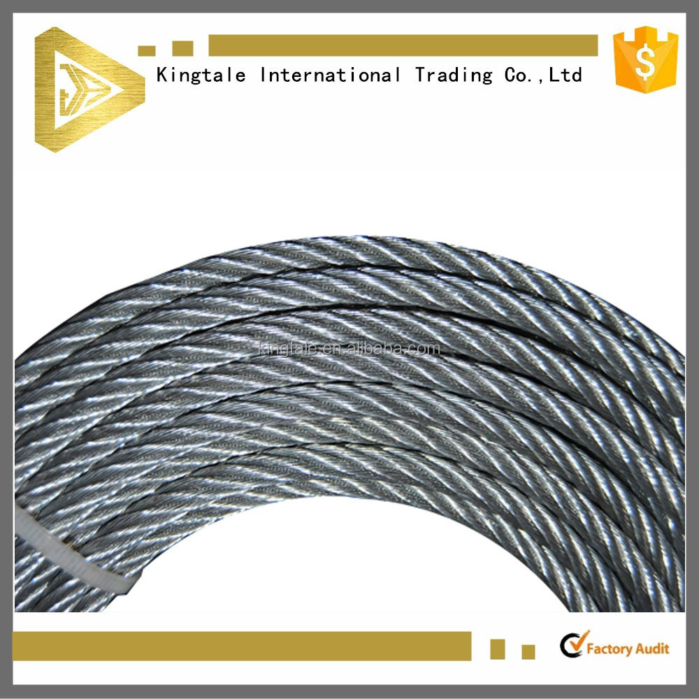Kingtale 6x19+fc 3mm Steel Wire Rope For Transport Cableway - Buy ...