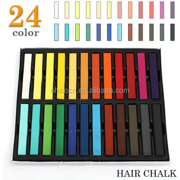 Without Chemicals Hair Color Dye Chalk The Black Magic Combs - Buy ...