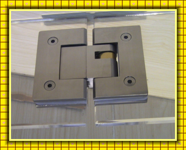 SS304 SS316 lost wax castings brushed polished heavy duty glass door hinge