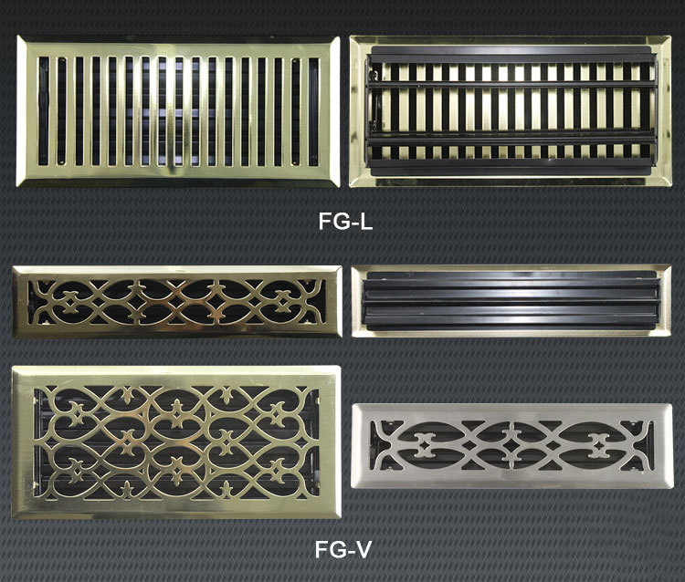 Ventilation And Decorative Return Air Grille Victorian