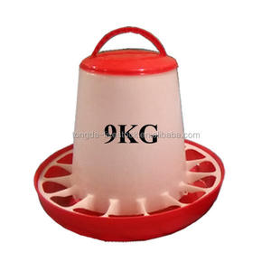 Plastic auto quail feeder wholesale chicken feeder made in China poultry farm chicken