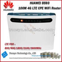Original Unlock LTE 100Mbps 4G LTE Wireless Router AND 4G Wireless Broadband Internet Router B593