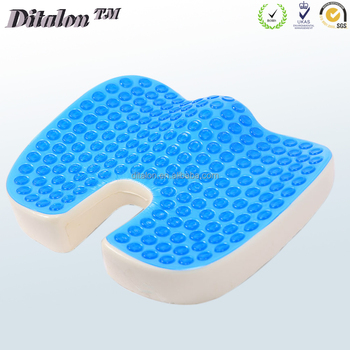 Comfortable Memory Foam Cooling Gel Car Seat Cushion With Gel Pad Buy High Quality Seat Cushion As Seen On Tv Cooling Gel Cushion Cooling Gel Car