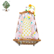 Muslin tree wholesale multi-purpose 100% cotton anti-block baby pillow baby crib bumper for baby bed