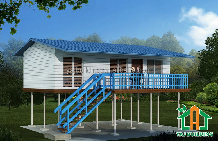 Low cost prefabricated building prefab house for png Building custom home cost