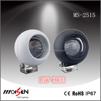 Hot Sale led work lights for truck CE Rohs Approved mini truck accessories IP67 10-30V DC 15w led work light
