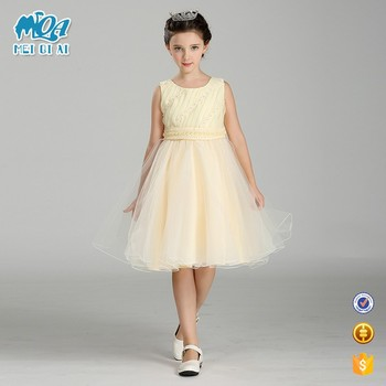 b6e94c429 Wholesale Kids Party Wear Frocks Baby Dress New Style Little Girls Lace  Beaded Fashion Party Dresses