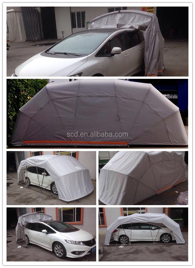 Foldable Car Tent, Folding Vehicle Tent, Removable Carport Tent