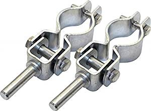 OARLOCK HORNS W//PINS BOAT OAR LOCK CHROME 56106