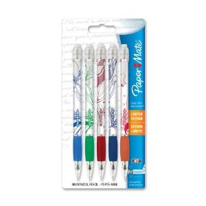 Paper Mate Expressions 0.7mm Mechanical Pencils, 5 Pack(61409)