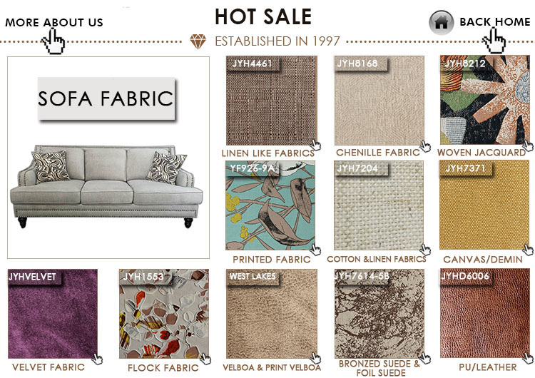 Manufacturer Alternative Home Microfiber 100% polyester sack cloth stock fabric