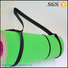 Trade assurance 4mm yoga mat with carrying strap