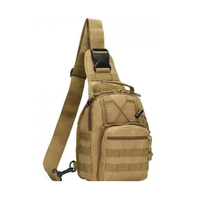 Osgoodway2 Small Tactical Sling Bag Pack Military Rover Shoulder Sling Backpack Molle Assault Range Bag
