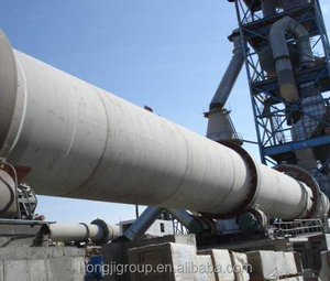 China Good Quality Cement Making Plant Machine 300 -1500T Per Day Clinker Rotary Kiln