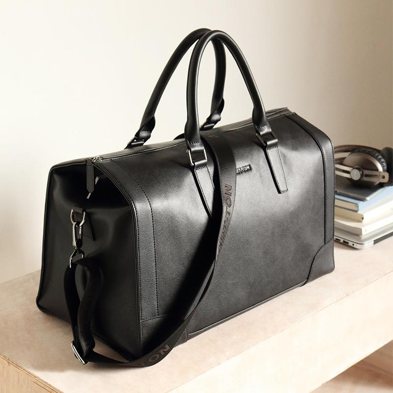 Vente en gros nouveau Design sac de voyage de grande capacité hommes d'affaires sac de voyage en cuir sac de voyage