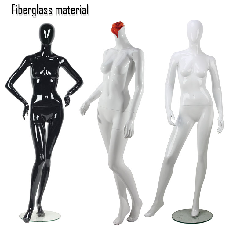 Beautiful full body girl sexy pose curvy female mannequins  for window display