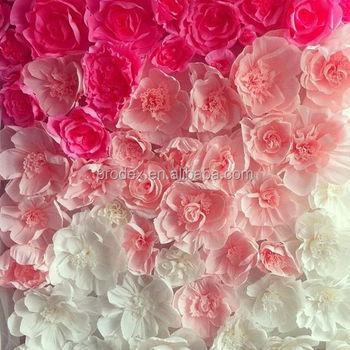 Paper folding flowers flower backdrop buy paper tablecloths paper folding flowers flower backdrop mightylinksfo