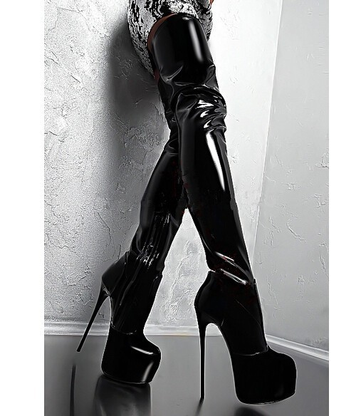 By pairing your favorite miniskirt or skinny jeans with knee-high or thigh-high boots! With these sexy boots, it's the taller the better, and GoJane carries them in all of the hottest styles for low prices you won't find anywhere else.