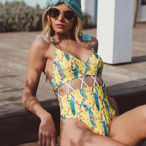 Teenage Girls Swimwear One Piece Swimwear Women Monokini Bathing