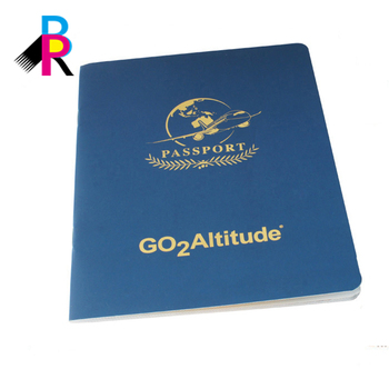 Wholesale Good Quality Custom Design Emulational Passport Printing