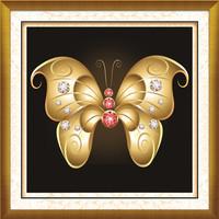 New arrivel 5d diy diamond painting cross stich butterfly diamond embroidery